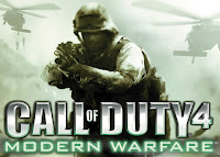 call of duty 4 promotion banner Virtual War Crosses Into Reality