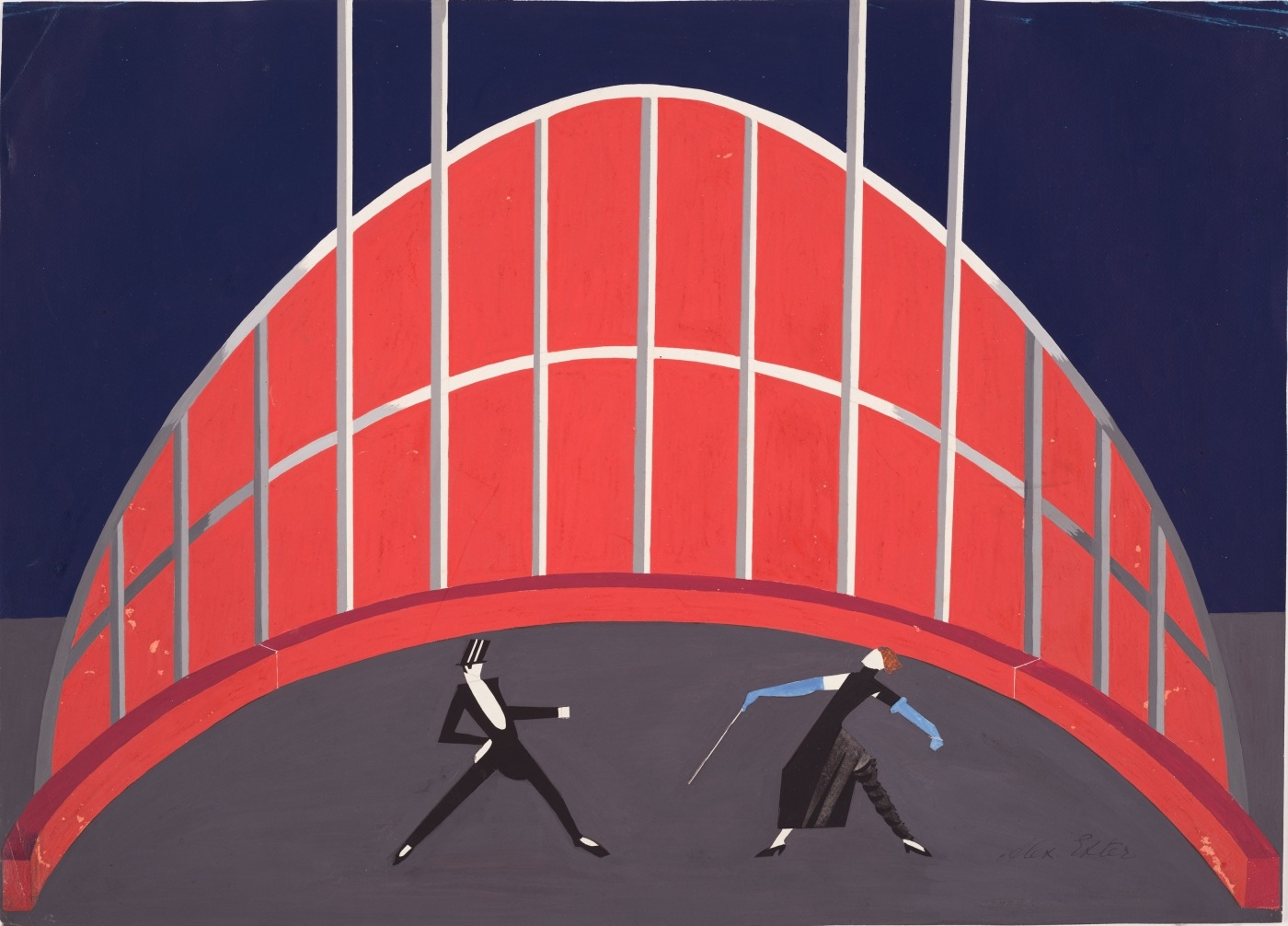 Le Cirque : ballet set design