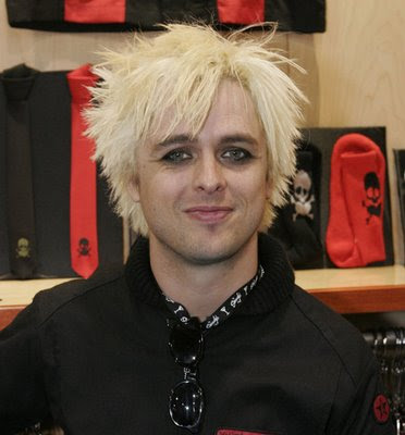 Haircuts for Men - Men's Hair Style Pictures: Billie Joe Armstrong Punk Rock