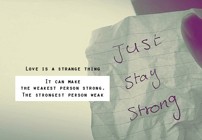 Strong Love Quotes For Him Tumblr : Oktober 2010 Chute de vous