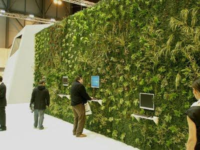 Muros verdes fachada activa for Muros verdes naturales