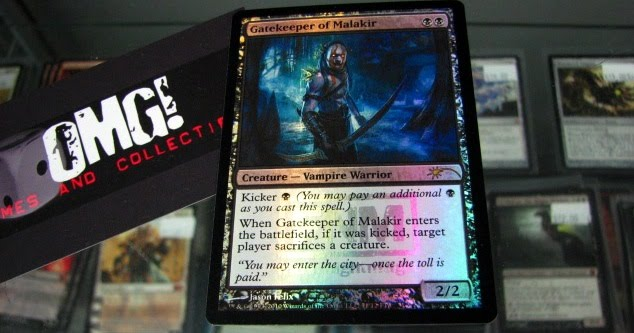 win a promo Gatekeeper of Malakir, a very slick 2/2 for two with a heck
