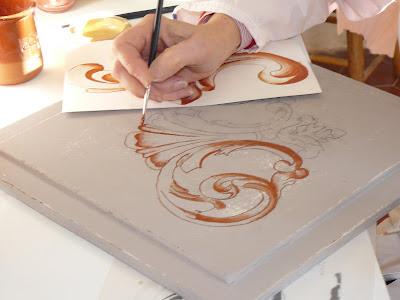 atelier de peinture les foucards