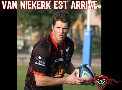 RCT Joe Van Niekerk