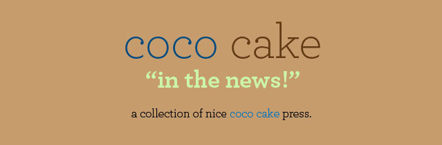 Coco Cake In The News