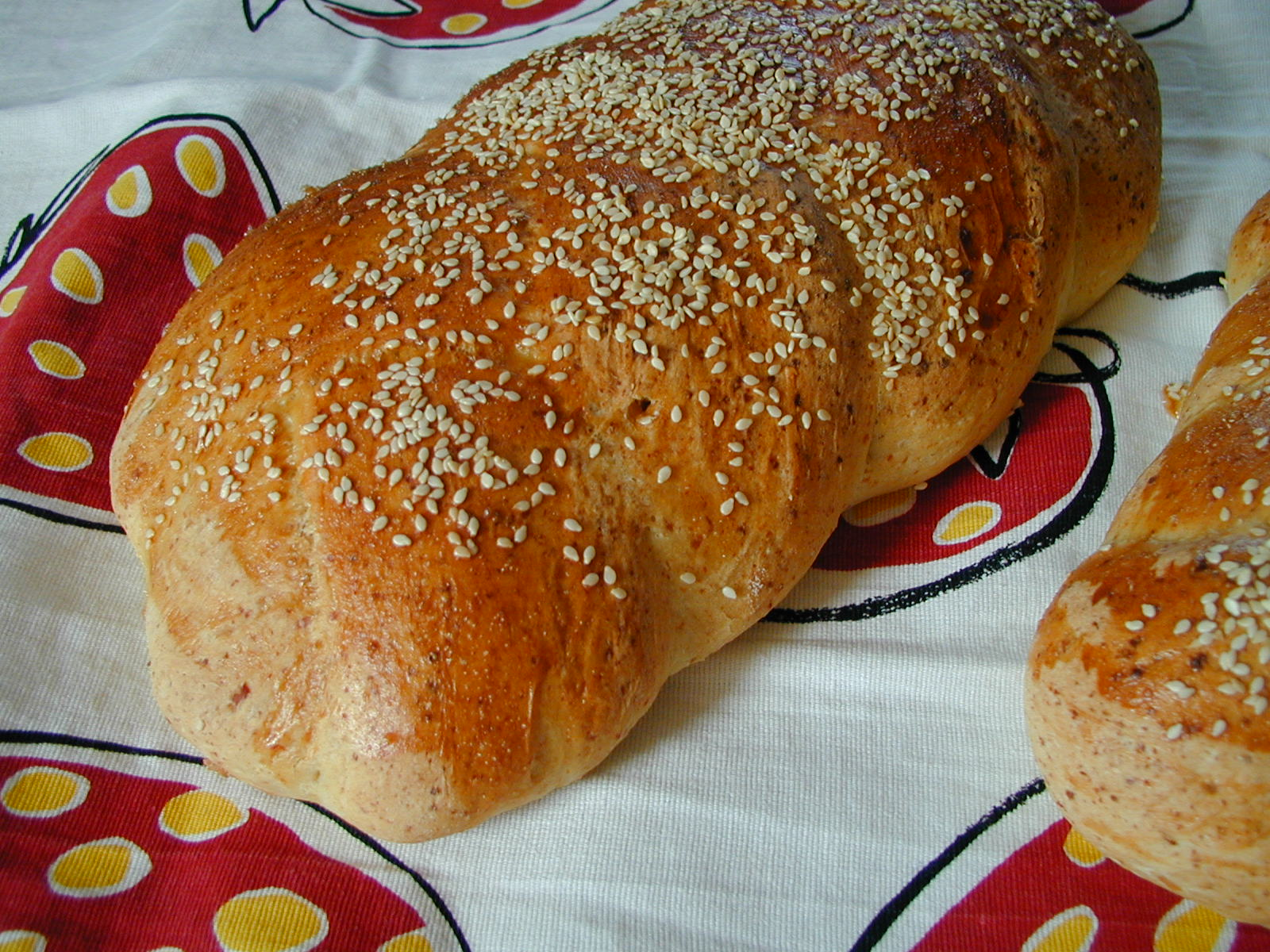 bröd med keso