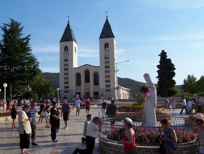 Un pèlerinage à Medjugorje ...en videos. MEDJUGORJE2007