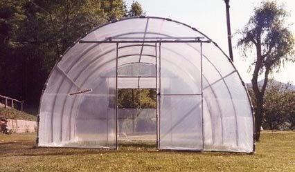 Complementos casa y jard n invernaderos grandes tunel sik for Casa de plastico para jardin