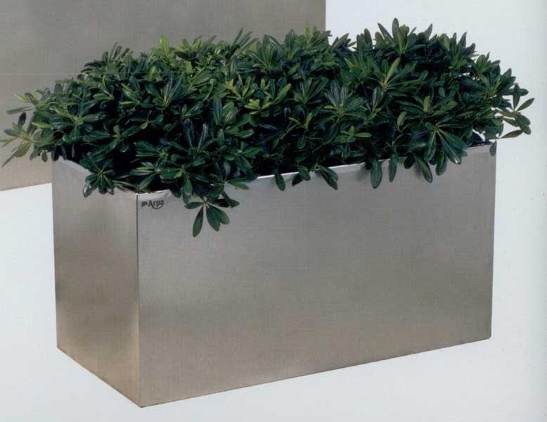 garden center ejea accesorios jardn jardineras inoxidables jardinera acero inoxidable de x x