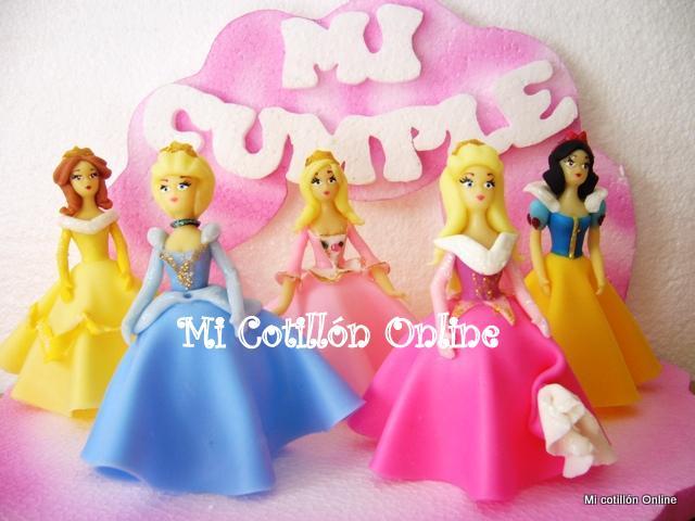 Adorno de Torta Princesas Disney Souvenirs Sirenita Bella - $ 15.00 en ...