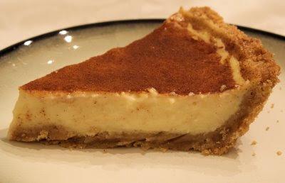 La Chelle's Kitchen: South African Milk Tart (Melktert)