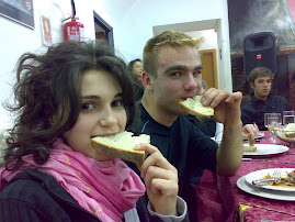 You have such a good bread... (Ana and Latvian student)
