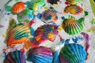 Painted Seashells