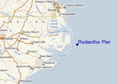 Rodanthe map