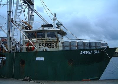 Andrea Gail Wreck Found Boat http://www.completely-coastal.com/2009/06/movies-ships-lost-at-sea.html