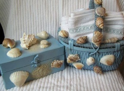 Craft Ideas Seashells on Craft Project Ideas With Seashells  Fabric  Bottles  Rope And More