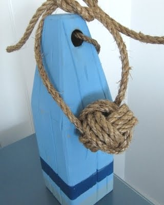 nautical monkey fist rope knot