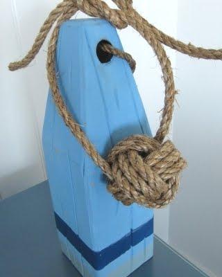 nautical monkey fist rope knot