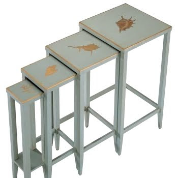 shell motif nesting tables