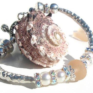 handmade mar de vidro estilo pulseira pulseiras