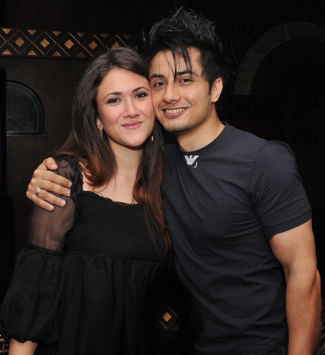Ali Zafar With His Future Wife