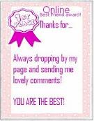 AWARD from Cik Puan Gaban :)