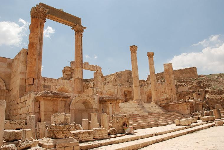 Ruinas romanas de Jerash.