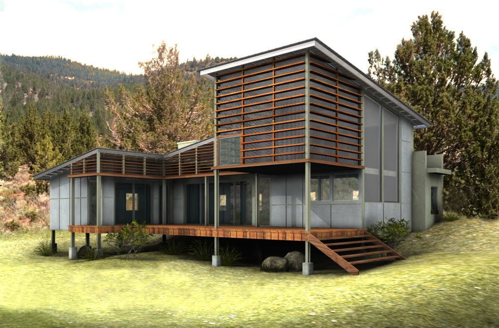 Pollution and health environmentally friendly house design for Eco friendly home plans