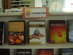 """Filme """"esperanto estas"""" em uma video-locadora de Nova Iguaçu"""