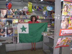 Esperanto nas bancas de jornal