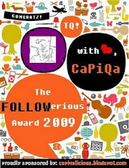 Award from capiqa - capiqalicious