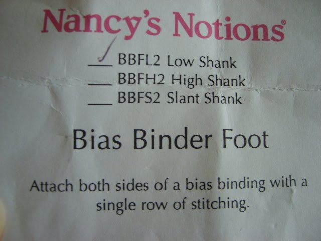 Folk Art And Fantasy Bias Binder Foot