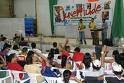 Ministração no congresso de jovens, Comunidade Evangélica Mundial, Aracaju-SE