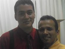 Conf. Pr. Emerson e Pr. Luiz Henrique, presidente da Igreja Batista Missionária-AL