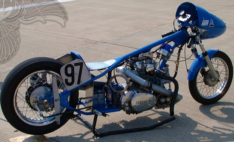 yamaha xs650 drag bike