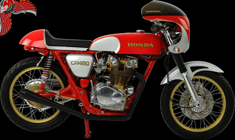 honda cb450 cafe racer | phil little