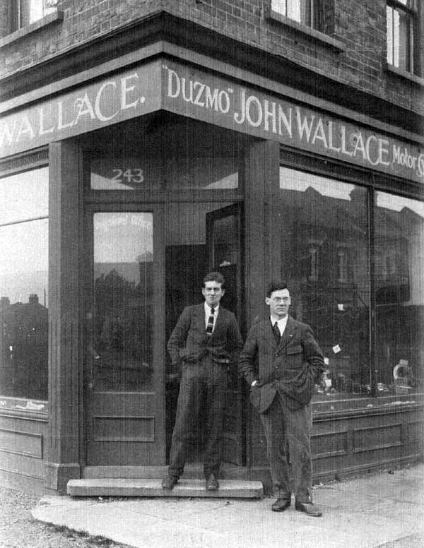 harold biggs and john wallace at the duzmo offices