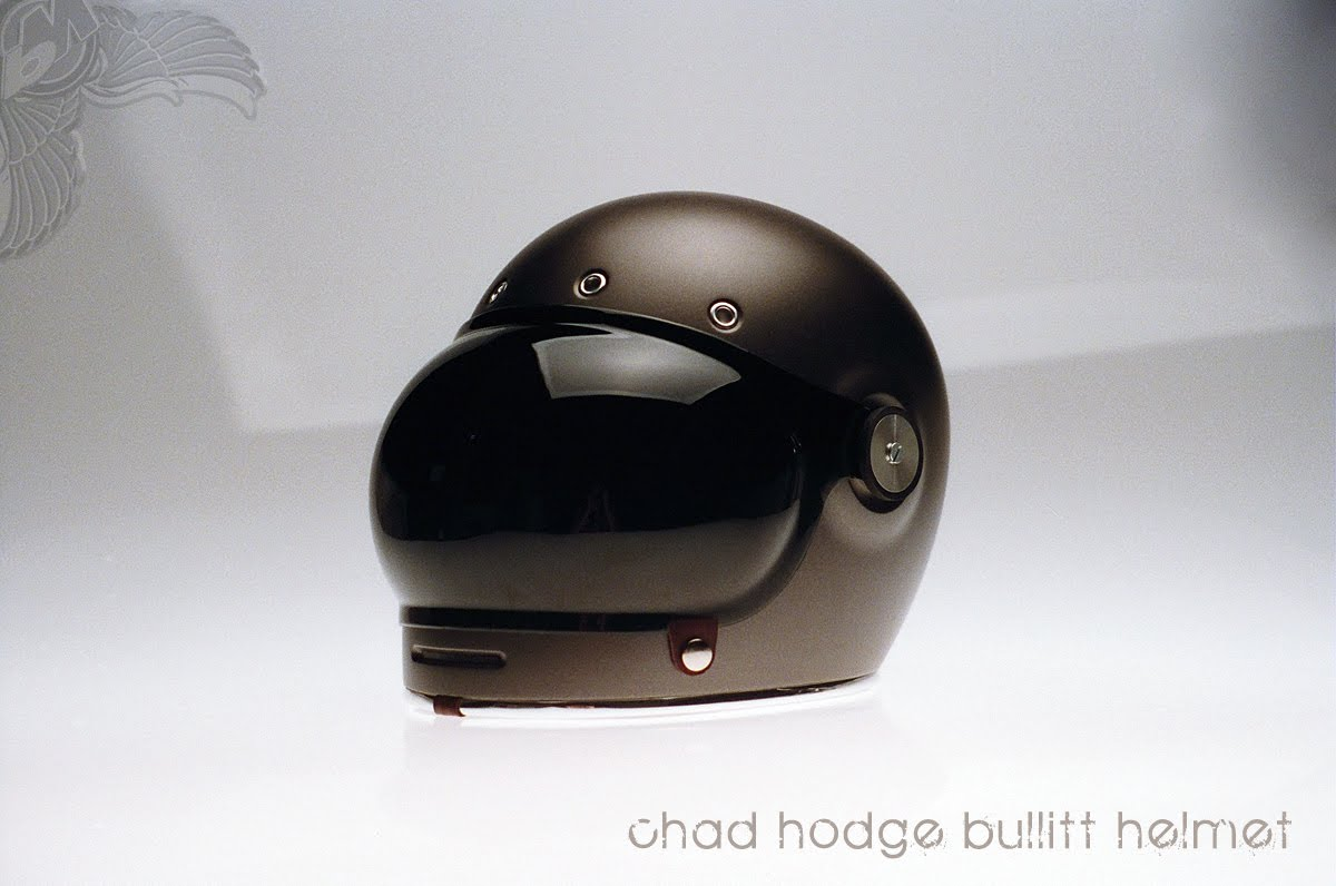 Chad Hodge Retro Modern Full Face Bullitt Helmet