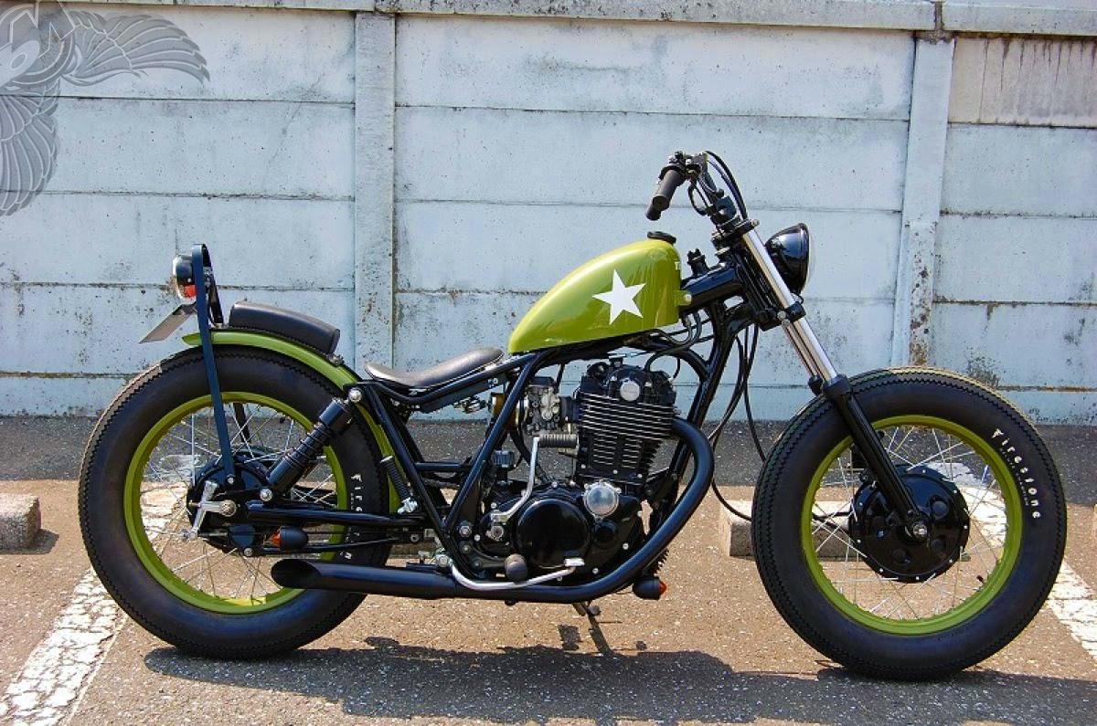 kick back motorcycles sr400 bobber - bikerMetric