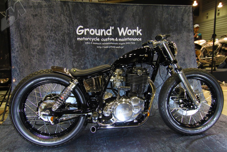 ground work's yamaha sr500 brat