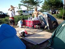 Camping on Sado Island