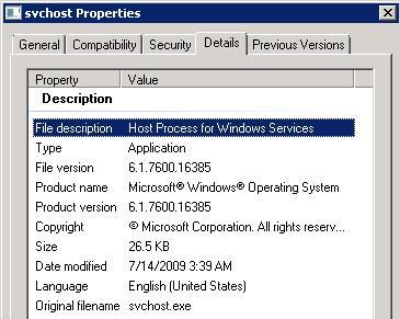 windows 7 svchost hotfix