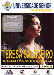 Espectáculo -Teresa Salgueiro