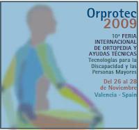 cartel anunciador de la feria Orprotec