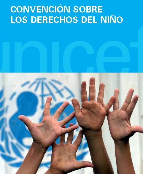 Captura de la portada de la Convención de Derechos del Niño y Protocolos posteriores