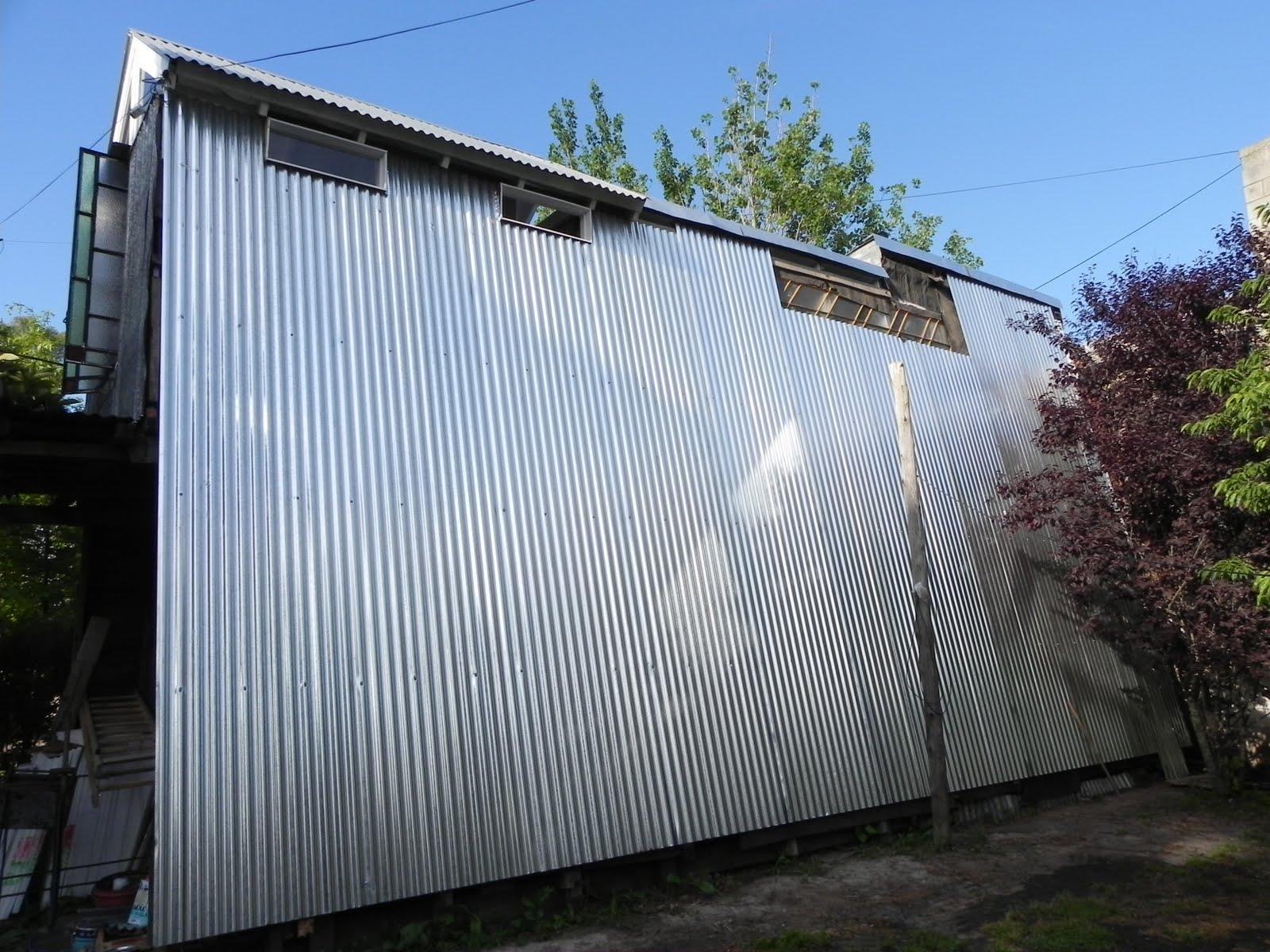 Casita noviembre 2010 for Revestimiento exterior zinc