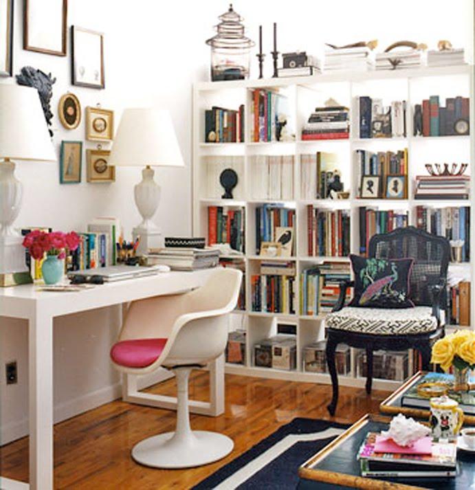 Alanna cavanagh ikea expedit bookshelf as gorgeous room divider - Bookshelves small spaces photos ...