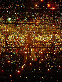 moi... dans une boîte de lumières - Musée de Nancy, 26 août 07