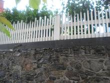 Vackert staket.