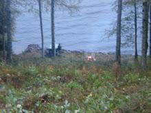 Gubben vid sjön.